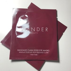 Wander beauty baggage claim hold eye masks